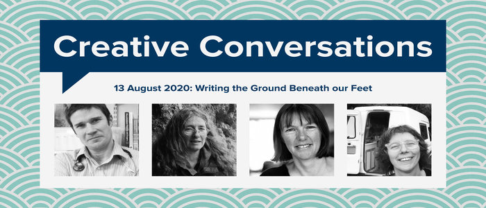 Image for Scottish Writers Creative Conversations Showcase: Writing the Ground Beneath Our Feet