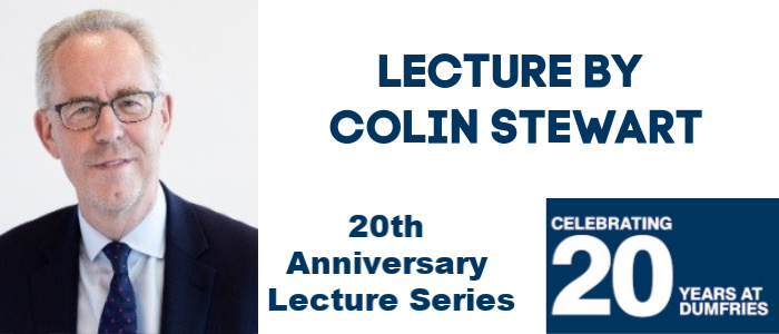 Image for Celebrating 20 Years in Dumfries - Lecture by Colin Stewart