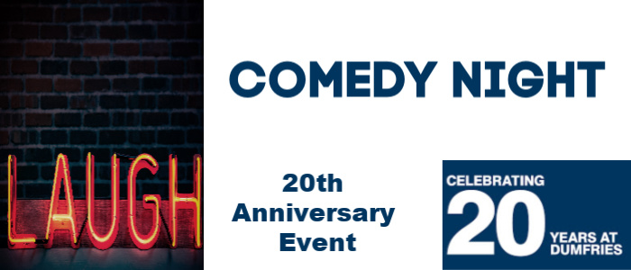Image for Celebrating 20 Years in Dumfries - A Night of Comedy in Dumfries