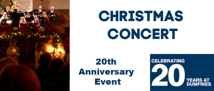 Image for Celebrating 20 Years in Dumfries - Christmas Concert